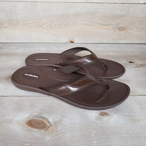 Okabashi Women's Flip-flops Brown